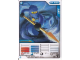 Gear No: 4612696  Name: Ninjago Masters of Spinjitzu Deck #1 Game Card 5 - Jay - International Version