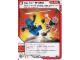 Gear No: 4612922  Name: Ninjago Masters of Spinjitzu Deck #1 Game Card 28 - Up for Grabs - International Version