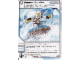 Gear No: 4612939  Name: Ninjago Masters of Spinjitzu Deck #1 Game Card 54 - Snow Surfin' - International Version