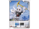 Gear No: 4612946  Name: Ninjago Masters of Spinjitzu Deck #1 Game Card 9 - Bonezai - International Version