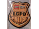 Gear No: 4617125  Name: Sticker, Lego City Police LCPD Badge, 3D