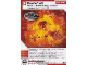 Gear No: 4617229  Name: Ninjago Masters of Spinjitzu Deck #1 Game Card 29 - Backdraft - International Version