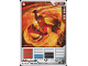 Gear No: 4617244  Name: Ninjago Masters of Spinjitzu Deck #1 Game Card 3 - Kai DX - International Version