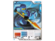 Gear No: 4621809  Name: Ninjago Masters of Spinjitzu Deck #1 Game Card 5 - Jay - North American Version