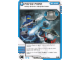 Gear No: 4621810  Name: Ninjago Masters of Spinjitzu Deck #1 Game Card 45 - Force Field - North American Version