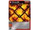 Gear No: 4621818  Name: Ninjago Masters of Spinjitzu Deck #1 Game Card 23 - Flame Pit - North American Version