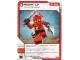 Gear No: 4621820  Name: Ninjago Masters of Spinjitzu Deck #1 Game Card 21 - Power Up - North American Version