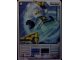Gear No: 4621829  Name: Ninjago Masters of Spinjitzu Deck #1 Game Card 8 - Zane - North American Version