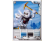Gear No: 4621839  Name: Ninjago Masters of Spinjitzu Deck #1 Game Card 9 - Bonezai - North American Version