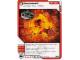 Gear No: 4621860  Name: Ninjago Masters of Spinjitzu Deck #1 Game Card 29 - Backdraft - North American Version