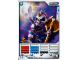Gear No: 4621862  Name: Ninjago Masters of Spinjitzu Deck #1 Game Card 7 - Nuckal - North American Version