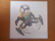 Gear No: 463-T9673A  Name: Tattoo (Temporary Body Print), Bionicle Visorak Keelerak Pattern