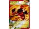 Gear No: 4631417  Name: Ninjago Masters of Spinjitzu Deck #1 Game Card 25 - Head Spin - North American Version