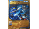 Gear No: 4631447  Name: Ninjago Masters of Spinjitzu Deck #1 Game Card *4 - Force Field (Golden Card)