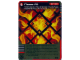 Gear No: 4631450  Name: Ninjago Masters of Spinjitzu Deck #1 Game Card *6 - Flame Pit (Golden Card)