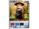 Gear No: 4642687  Name: Ninjago Masters of Spinjitzu Deck #1 Game Card *7 - Sensei Wu (Black Outfit) - North American Version