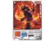 Gear No: 4643442  Name: Ninjago Masters of Spinjitzu Deck #2 Game Card 5 - Samurai X - International Version