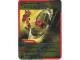 Gear No: 4643445  Name: Ninjago Masters of Spinjitzu Deck #2 Game Card 39 - Boomerang - International Version