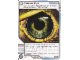 Gear No: 4643455  Name: Ninjago Masters of Spinjitzu Deck #2 Game Card 104 - Falcon Eye - International Version