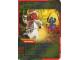 Gear No: 4643459  Name: Ninjago Masters of Spinjitzu Deck #2 Game Card 47 - Retreat - International Version