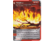 Gear No: 4643460  Name: Ninjago Masters of Spinjitzu Deck #2 Game Card 42 - Wildfire - International Version