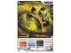 Gear No: 4643462  Name: Ninjago Masters of Spinjitzu Deck #2 Game Card 14 - Cole ZX - International Version