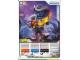 Gear No: 4643467  Name: Ninjago Masters of Spinjitzu Deck #2 Game Card 22 - Rattla - International Version