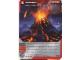 Gear No: 4643484  Name: Ninjago Masters of Spinjitzu Deck #2 Game Card 41 - Volcano - International Version
