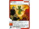 Gear No: 4643506  Name: Ninjago Masters of Spinjitzu Deck #2 Game Card 45 - Assist - International Version