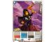 Gear No: 4643606  Name: Ninjago Masters of Spinjitzu Deck #2 Game Card 25 - Lloyd - North American Version