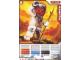 Gear No: 4643631  Name: Ninjago Masters of Spinjitzu Deck #2 Game Card 6 - Snappa - North American Version