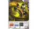 Gear No: 4643636  Name: Ninjago Masters of Spinjitzu Deck #2 Game Card 14 - Cole ZX - North American Version