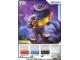 Gear No: 4643641  Name: Ninjago Masters of Spinjitzu Deck #2 Game Card 22 - Rattla - North American Version