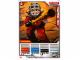 Gear No: 4643646  Name: Ninjago Masters of Spinjitzu Deck #2 Game Card 3 - Kendo Kai - North American Version