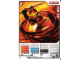 Gear No: 4643651  Name: Ninjago Masters of Spinjitzu Deck #2 Game Card 2 - Kai ZX - North American Version