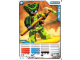 Gear No: 4643683  Name: Ninjago Masters of Spinjitzu Deck #2 Game Card 12 - Spitta - North American Version