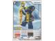 Gear No: 4643703  Name: Ninjago Masters of Spinjitzu Deck #2 Game Card 24 - Slithraa - North American Version