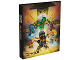 Gear No: 465556  Name: Binder, Ninjago Master Wu, 4-Ring Binder