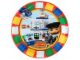 "Gear No: 46571  Name: Food - Party Plates Duplo Legoville 7"" (8 pcs)"