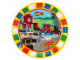 """Gear No: 46578  Name: Food - Party Plates Duplo Legoville 9"""" (8pc)"""