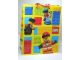 Gear No: 4794904  Name: Gift Bag, Lego City Minifigures and Bricks Pattern