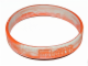 Gear No: 5002939band  Name: Wristband, Rubber, Marbled Orange and White, Star Wars