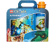 Gear No: 5003561  Name: Lunch Box Set, Legends of Chima, Blue with Orange Bottle Cap