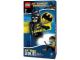 Gear No: 5003579  Name: Head Lamp, Minifig LED Headlamp Torch - Batman