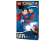 Gear No: 5003582  Name: Head Lamp, Minifig LED Headlamp Torch - Superman