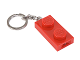 Gear No: 5004264  Name: LED Key Light 1 x 2 Plate Key Chain Red