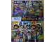 Gear No: 5005047  Name: Nexo Knights Poster, Double Sided showing Minifigures with Names
