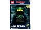 Gear No: 5005368  Name: Digital Clock, The LEGO Ninjago Movie Lloyd Figure Alarm Clock