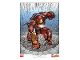 Gear No: 5005573  Name: Marvel Super Heroes The Hulkbuster: Ultron Edition Poster LEGO VIP Limited Edition Colorized Variant