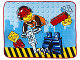 Gear No: 5055285386733  Name: Bedding, Fleece Blanket Polyester (150 cm x 120 cm) - City Construction
